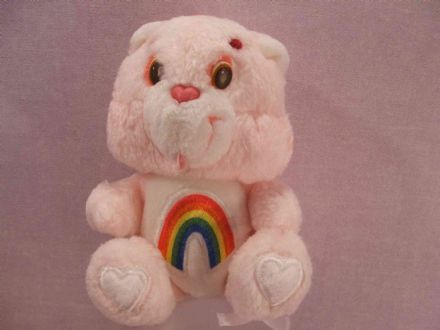 "VINTAGE 7"" CHEER CARE BEAR (CB110)"